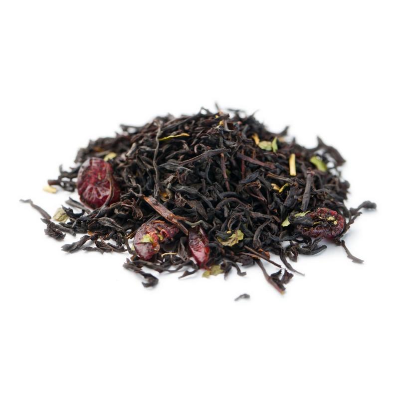 Чай GUTTENBERG. Черный. Дикая вишня. 100 гр. (вес)