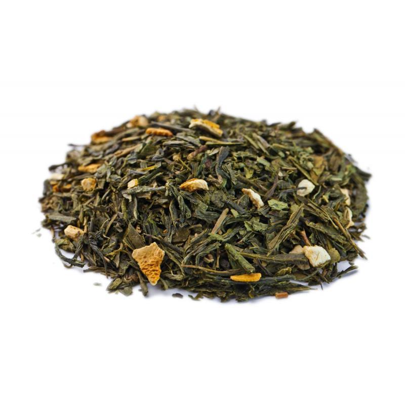Чай GUTTENBERG. Зеленый. Лимонник. 100 гр. (вес)