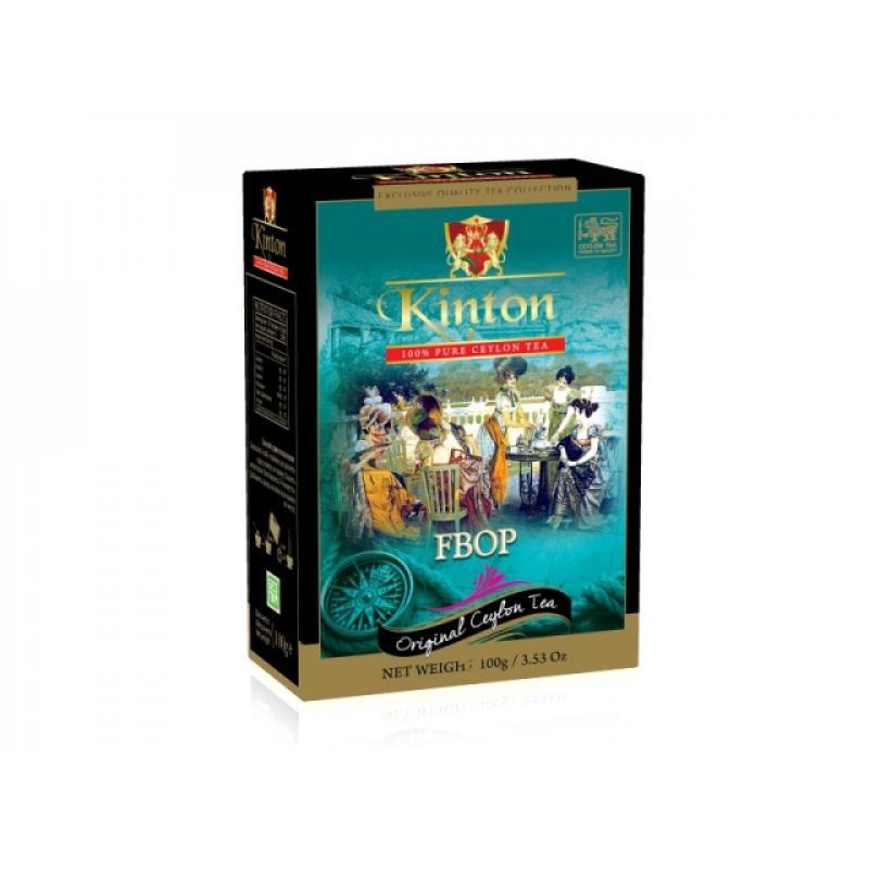 Чай Kinton. Черный классический. F.B.O.P. 100 гр.