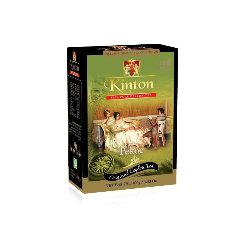 Чай Kinton. Черный классический. Pekoe. 100 гр.