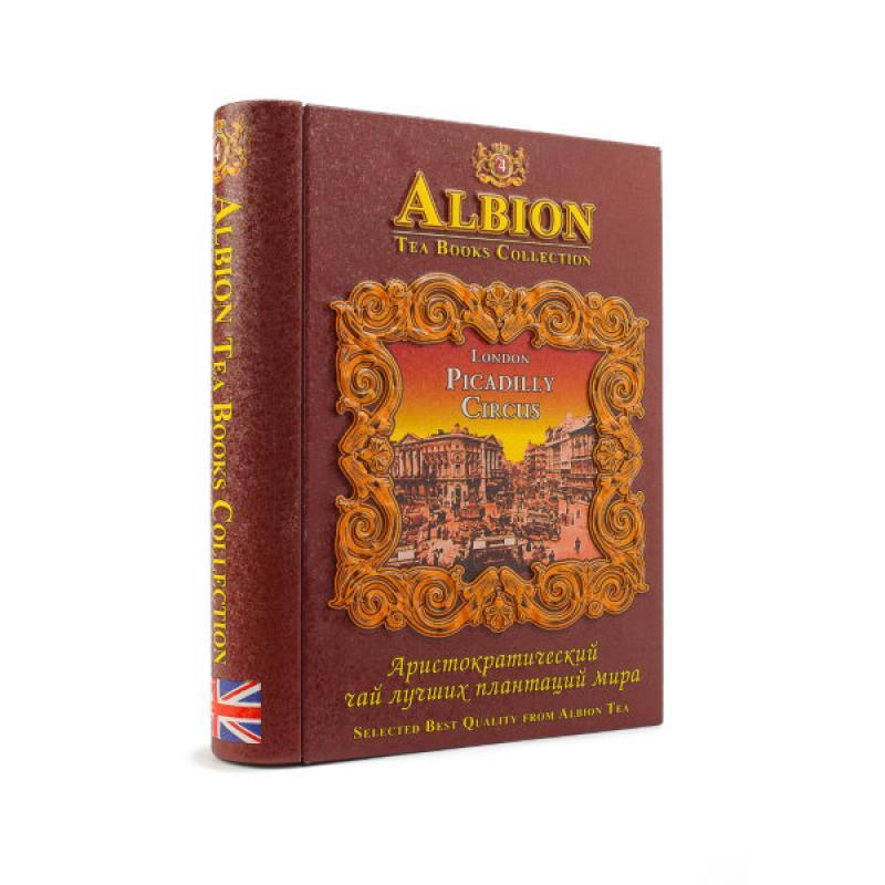 "Чай Albion черный Шкатулка-книга Том 4 ""Picadilly Circus""."