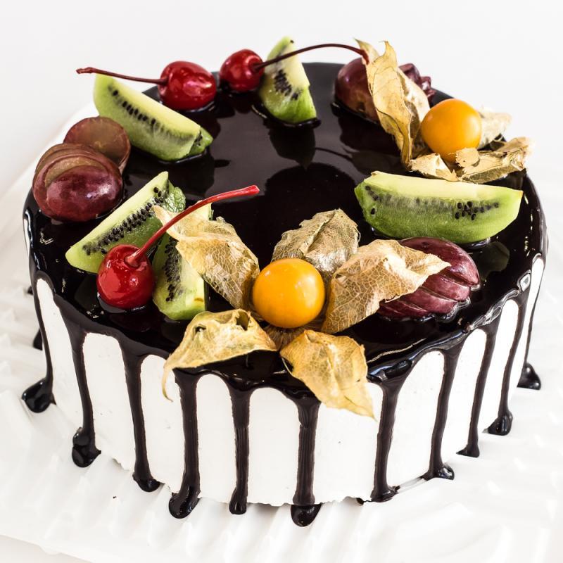Торт Черный лес безглютеновый