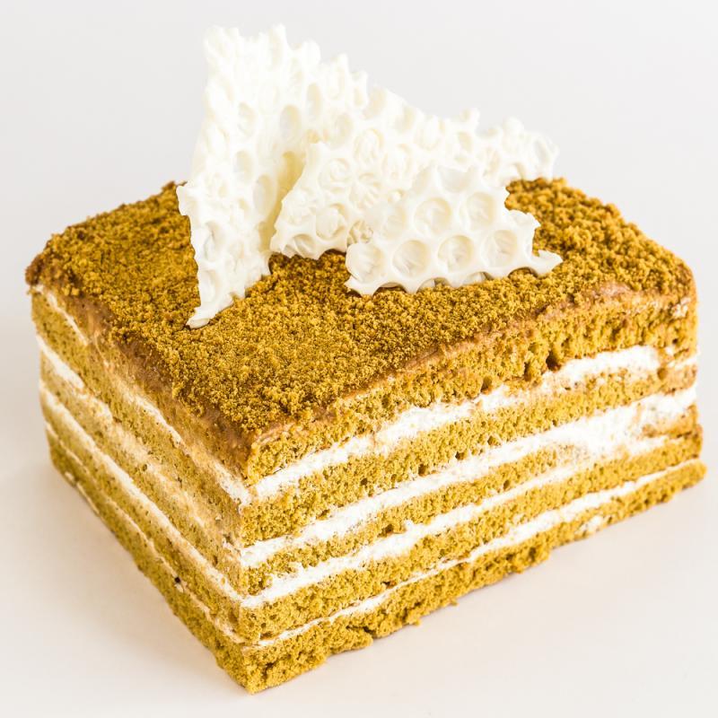 Торт Медовик гречишный