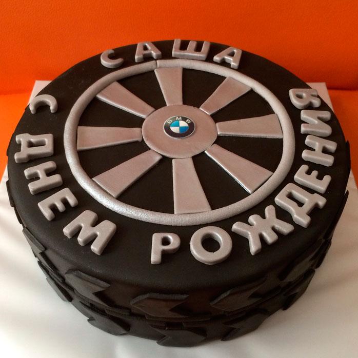 торт в виде руля фото